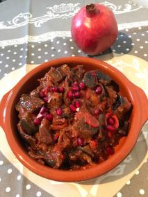 Persischer Abend Aubergine