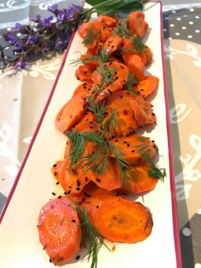 Persischer Abend Karotten