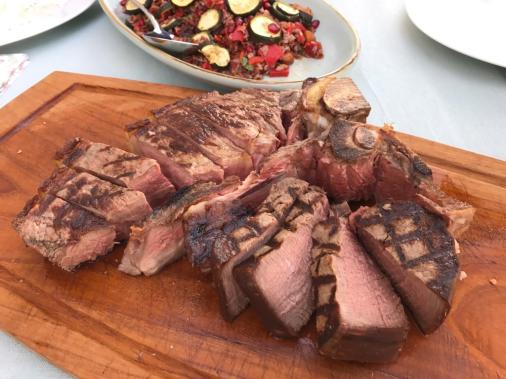 Persischer Abend Steak fertig
