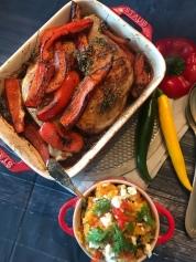 Jamie Olivers Piri Piri Chicken Mit Süßkartoffelstampf Oder