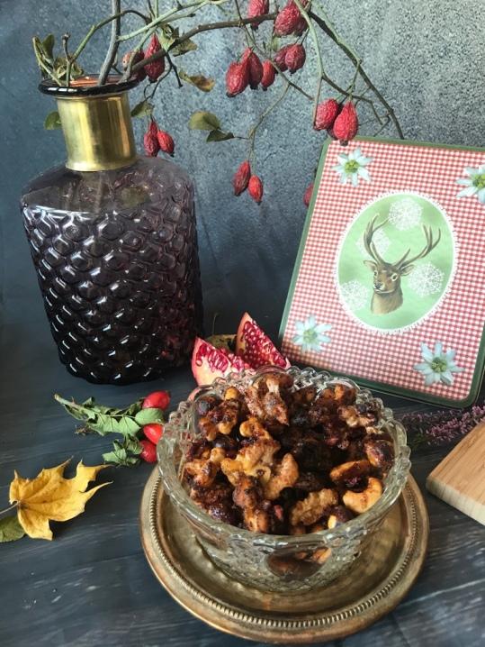 Nüsse und Wacholderplätzchen5
